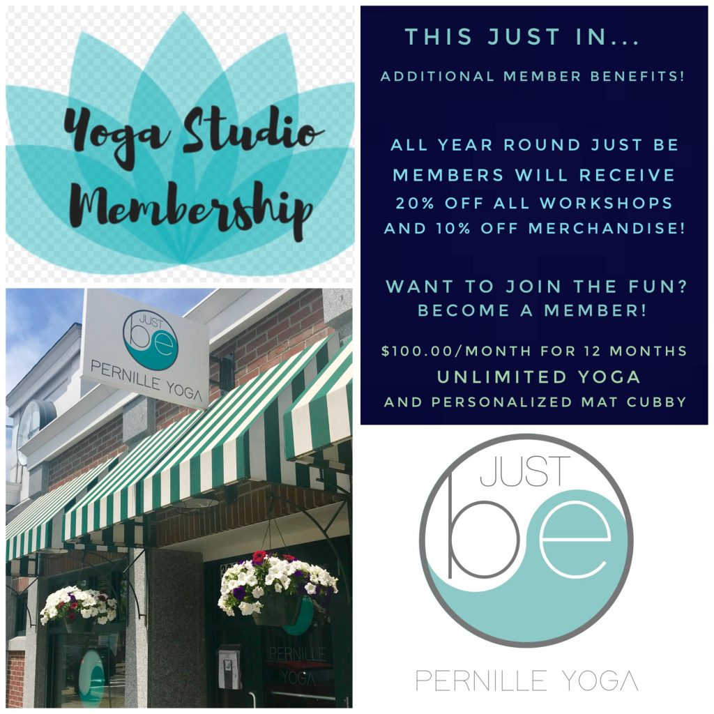 New Monthly Membership Deal at Just Be Yoga